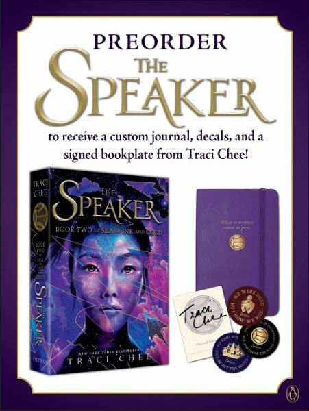 Traci Chee's pre-order gifts